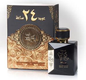 Oud 24 Hours 100ml EDP by Ard al Zaafaran men & women perfume + Body Deodorant
