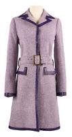 Ally Mcbeal Calista Flockhart Screen Worn Purple Coat Costume Rare D&G Vintage