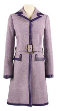 Ally Mcbeal Calista Flockhart Screen Worn Purple Coat TV Prop Costume Rare D&G