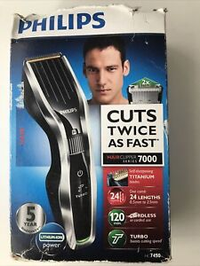 Philips HC7450 Men Cordless Hair Clipper & Beard Trimmer!