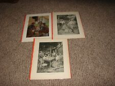 LOT OF {3} VINTAGE PRINTS BY{HY S. WATSON}