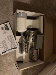 New KitchenAid Rotor Vegetable Slice Shredder Stand Mixer Attachment