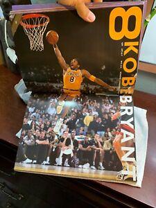1999-2000 Los Angeles Lakers NBA Basketball KOBE BRYANT Rare Magazine Photos