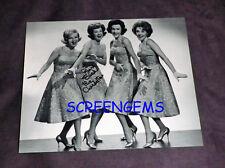 """The Chordettes signed photo Lynn Evans """"Mister Sandman""""  """"Lollipop"""" girl group"""