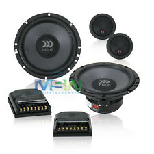 """*NEW* MOREL TEMPO ULTRA 602 6-1/2"""" 2-Way CAR AUDIO COMPONENT SPEAKER SYSTEM 6.5"""