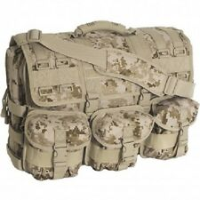 Desert Digital MOLLE Tactical Military Laptop Field Briefcase Shoulder