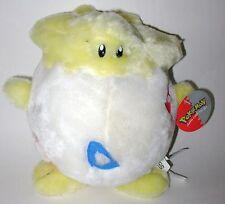 1998 Pokemon Togepi Plush Stuffed Animal Egg Blue Red Triangle Nintendo Vintage
