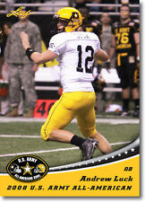 ANDREW LUCK - 2012 Leaf U.S. Army All-American Football RC