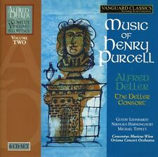 Music Of Henry Purcell - Alfred & The Deller Consort  (2008, CD NIEUW)6 DISC SET