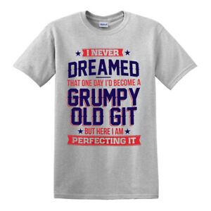 Perfecting Grumpy Old Git Mens Funny T Shirt/Gift for Him Dad Grandad Birthday