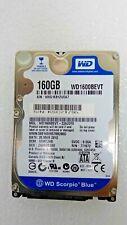 "Western Digital Scorpio Blue WD1600BEVT 160GB 2.5"" SATA II Hard Drive"