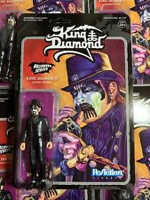 Heavy Metal Band KING DIAMOND Top Hat Super7 ReAction Action Figure In Stock!