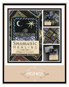 SHAMANIC HEALING ORACLE CARDS - BRAND NEW (Electronic Guidebook)