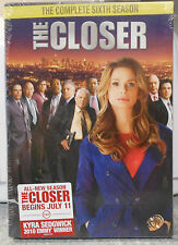 The Closer: The Complete Sixth Season (DVD, 2011, 3-Disc Set) BRAND NEW