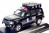 1:43 J-collection Nissan Patrol 2005(Y61) Hong Kong Police(SDU) Command Car