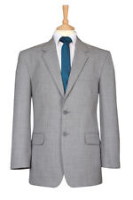 Wool Blend Patternless Blazers Suits & Tailoring for Men