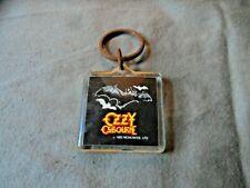 KeyChain/Vintage Ozzy Osbourne 1982 New NrMint  [Bat]