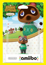 AMIIBO Animal Crossing TOM NOOK / Nintendo 3DS 2DS WiiU / NUOVO
