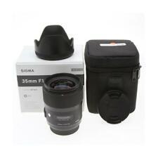 "Sigma 35mm f/1.4 DG HSM ART Lens for Maxxum  Sony Alpha ""A"" Mount 340629"