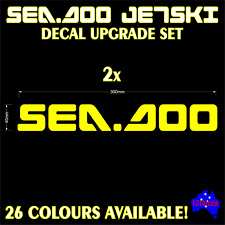 30cm SEA DOO,Jetski,P.W.C,Jet Boat quality marine grade vinyl decals stickers!