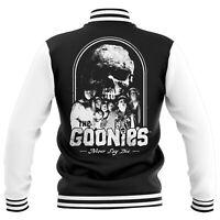 Official Merch The Goonies Never Say Die Black White Varsity Jacket BNWT XL