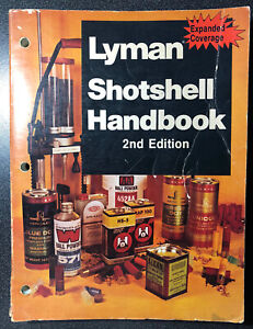 Lyman 1976 Shotshell Handbook 2nd Edition- Vintage Collectors Item