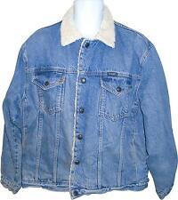 USED Mens Wrangler Warm Denim Jacket Size Large - X-Large (SA.P)