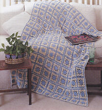 Crochet Pattern ~ SUMMER BREEZE AFGHAN ~ Instructions