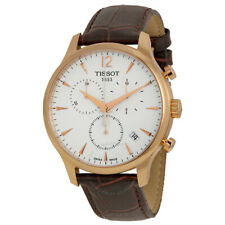 TISSOT Tradition Classic Chronograph Mens Rose Gold Swiss Watch T0636173603700