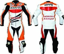 Honda Repsol Motorcycle Leather Suit Biker Leather Racer Suit Jacket Trouser