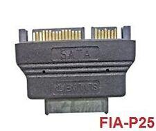 Slimline SATA Female to SATA Male Data & Power Adapter