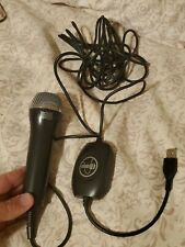 Rock band Logitech  USB black Microphone Xbox 360  PS3 ? mic ices-003