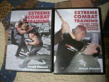 Extreme Combat Training Vol 1 & 2 Joseph Simonet 2 Dvd's