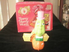 Vintage Strawberry Shortcake Berry Merry Worm Boxed Kenner 1983