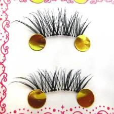 New 10 PCS 100% Handmade Cross Wing False Eyelashes Half Eye Lashes Lady Party