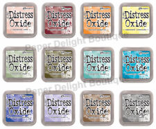 Tim Holtz Distress Oxide Ink Pads - All 12 NEW 2018 Colors - Release #3