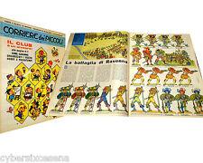 CORRIERE dei PICCOLI n. 15 del 1964 figurine soldati battaglia di Ravenna 1511