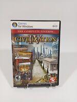 Sid Meier's Civilization IV: The Complete Edition (2009) PC DVD