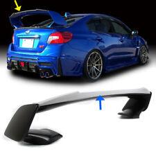 Primer For Subaru WRX STI Gurney Flap STI Top Trunk Spoiler Wing 15 19