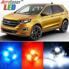 12 x Premium Xenon White LED Lights Interior Package Upgrade for Ford Edge
