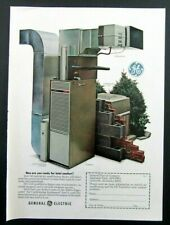 1971 GE GENERAL ELECTRIC Central Air Conditioning Magazine Ad