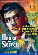 HOUSE OF SECRETS 1956 Michael Craig Julia Arnall UK 1-SHEET POSTER