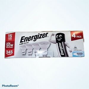 Energizer GU10 4.2W 50W Replacement LED Bulb 6500K Daylight Non Dimmable A+ NEW