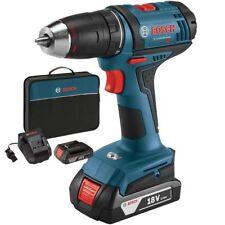 """Bosch Tools DDB181-02-RT 18V Li-Ion 1/2"""" Compact Tough 2-Battery Drill/Drive"""