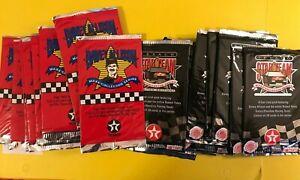 1992 1993 MAXX Davey Allison TEXACO 20 SEALED card Packs LOT NASCAR Winston Cup