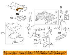 AUDI OEM 08-13 A3 Front Seat Bottom-Foam Cushion Pad Insert Left 8P0881361G