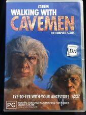 Walking With Cavemen - Complete Series - Rare R4 ABC/BBC DVD - Free Post