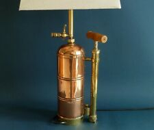 Man cave  Copper and Brass French Garden Sprayer Lamp
