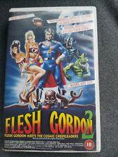 Flesh Gordon 2 Vintage B-Movie VHS Video.
