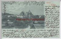 (94675) AK Gruß aus Erfurt, Dom von Westen, Mondscheinkarte 1898
